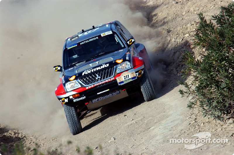 Dakar: Stage four Tunis to Tozeur notes