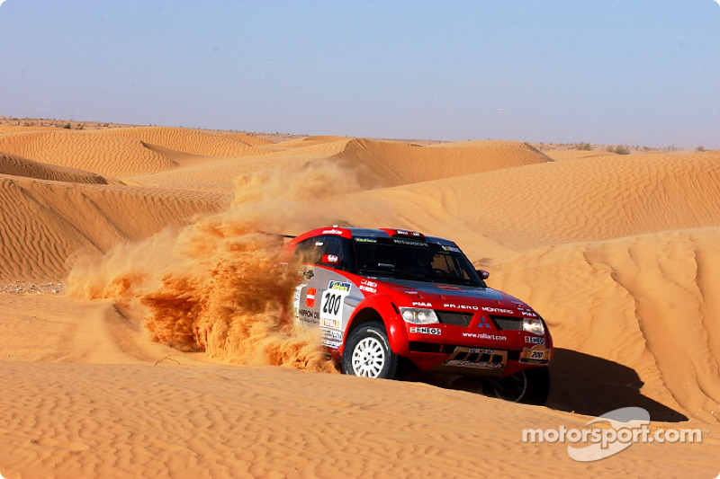Dakar: Mitsubishi stage five report