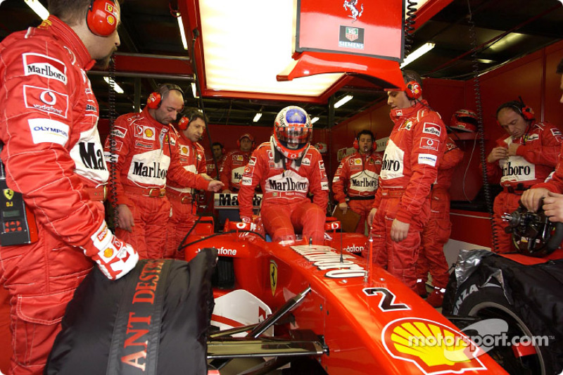 Barrichello hoping for good weekend