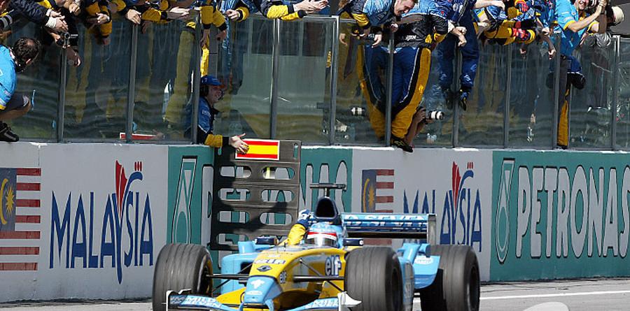 No euphoria for Alonso