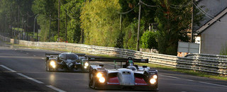 Le Mans Bentley sets the pace in warm-up