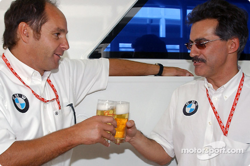 Berger's farewell to BMW