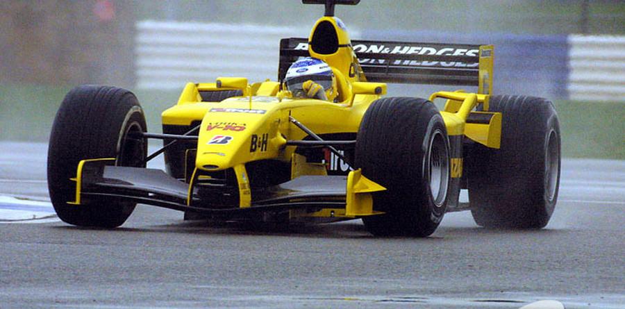 Jordan tests in gloomy Silverstone conditions