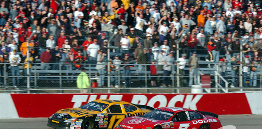 Kenseth wins at The Rock