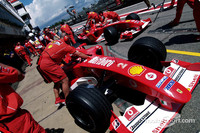 Can Ferrari take the title in Germany?