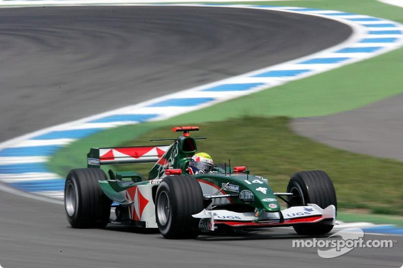 Jaguar thanks Webber