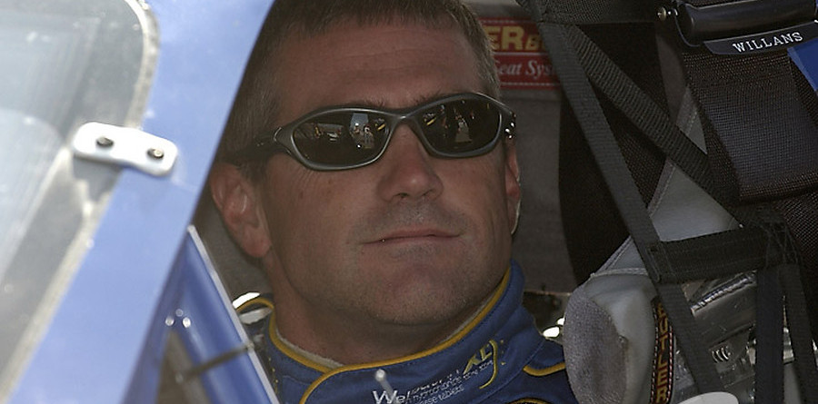 Bobby Labonte limping into the Chase