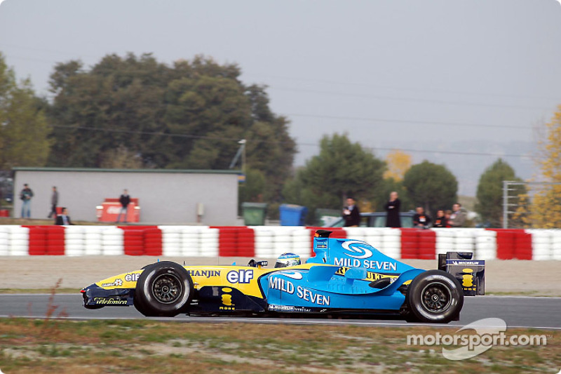 Fisichella positive after first test
