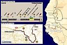 Dakar: The 2005 route