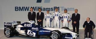 Formula 1 Williams launches the FW27 at Valencia