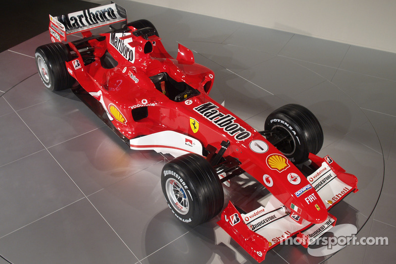Ferrari F2005 to race in Bahrain