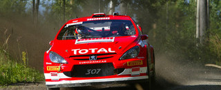 WRC Gronholm dominant on home ground