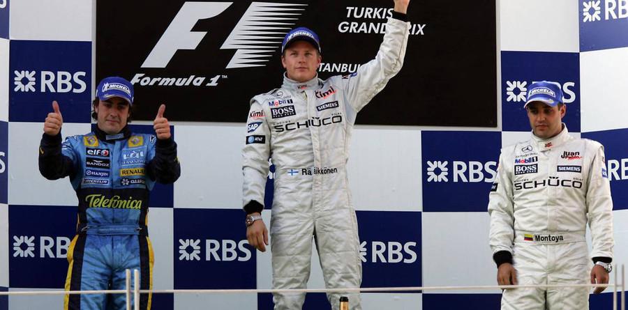 Raikkonen wins inaugural Turkish GP