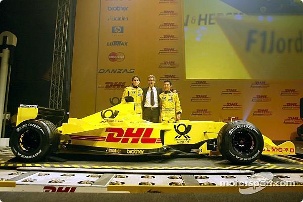 Найфеєричніші презентації Ф1 минулого: Jordan 2002 року