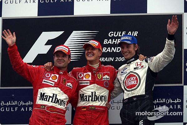 Todos los ganadores del GP de Bahrein de F1