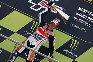 MotoGP Preview Márquez après son premier podium en France depuis 2014