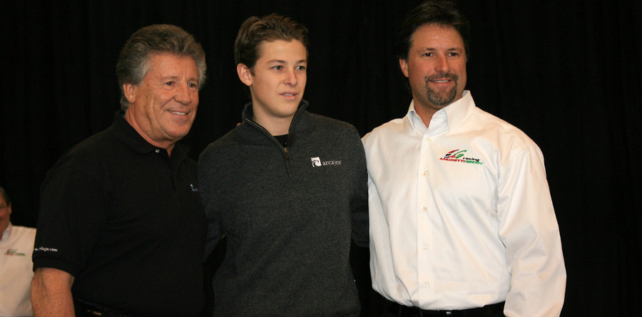 IRL: Andretti dad, son team up for 2006 Indy 500