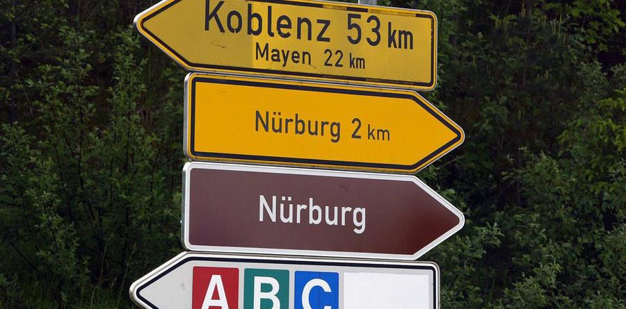 German race to alternate between tracks?