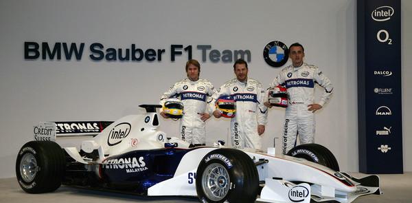 BMW Sauber launches the F1-06 in Valencia