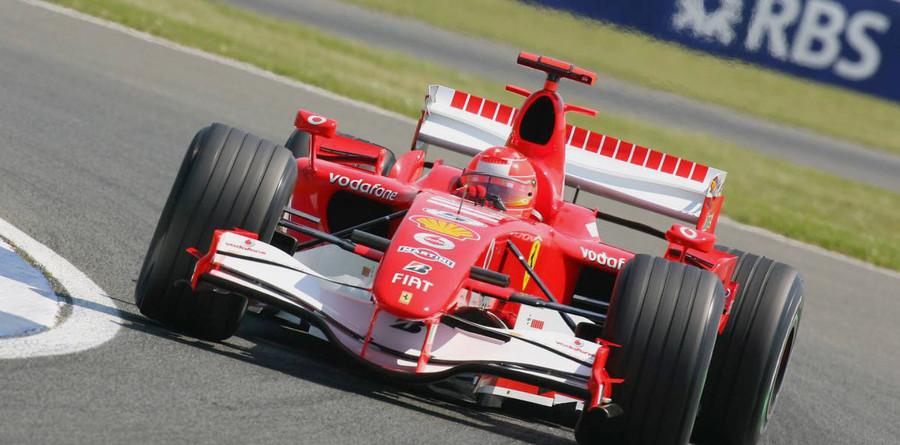 Schumacher leads in British GP last practice
