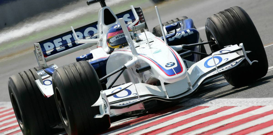 BMW Sauber flies in French GP last practice
