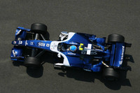 Wurz leads the way in German GP first practice