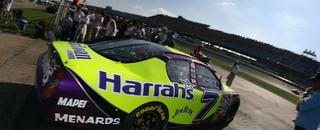 NASCAR Cup Robby Gordon paces Talladega final practice