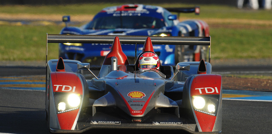 Audi continues alone up front