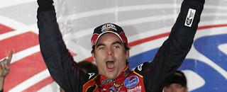 NASCAR Cup Gordon takes wild win at Charlotte