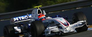 Formula 1 Kubica tops Jerez test times