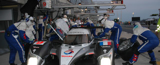 Le Mans Kristensen takes second as Klien spins off