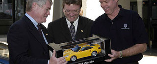 ALMS Obituary Ingram's Flat Spot On: Main man at Porsche