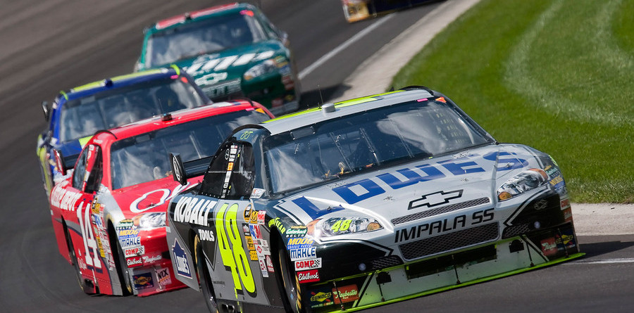 Johnson conquers Indy's Brickyard - again