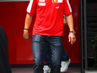 Schumacher back into Ferrari cockpit for Massa