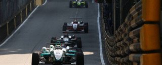 F3 Ericsson survives chaos to claim Macau pole
