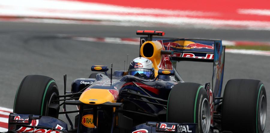 Vettel tops Friday practice times for Spanish GP