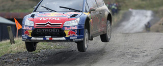 WRC Loeb ends day one of Wales Rally GB in the lead