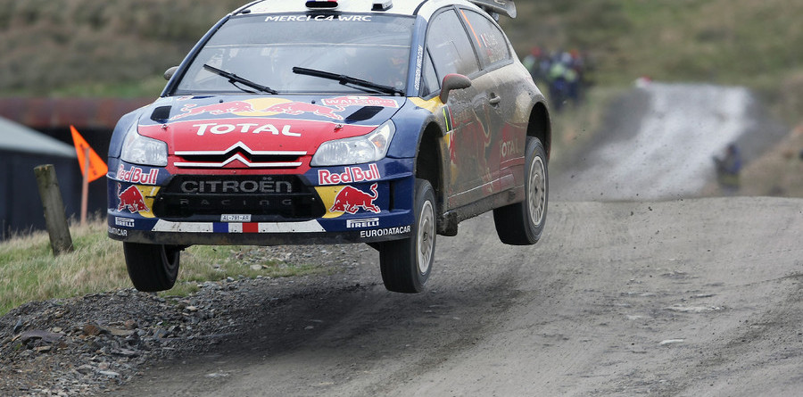 Loeb ends day one of Wales Rally GB in the lead