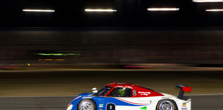Borcheller holds lead at Daytona24 halfway mark