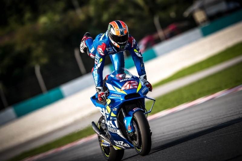 Alex Rins fährt mit Suzuki erneut auf P2: