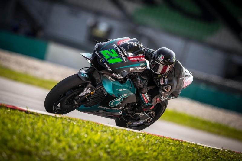Petronas-Yamaha: Testfahrten