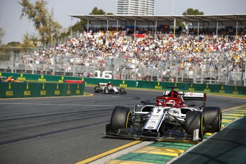 Kimi Räikkönen mit Alfa Romeo auf P8: