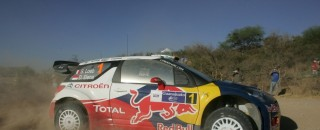WRC Citroen hits the ground running in Mexico