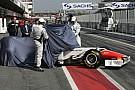 HRT reveal F111, Schumacher flies, Dennis in trouble
