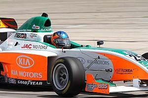 Indy Lights Juncos Racing Birmingham test notes 2011-03-16
