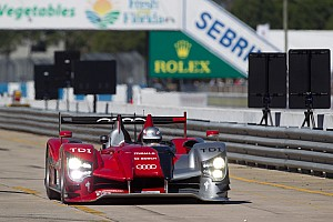 ALMS Audi qualifying report