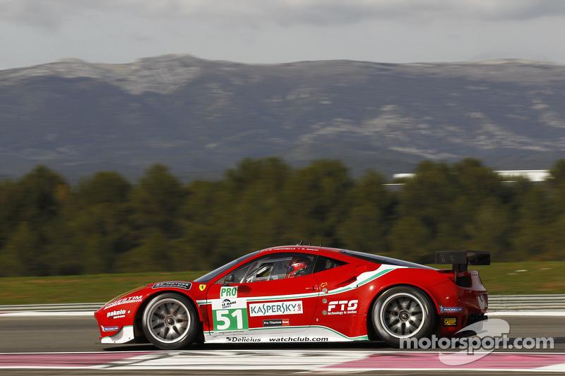 Ferrari teams qualifying report