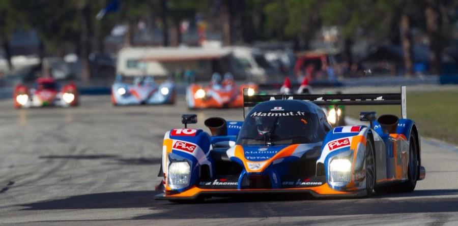 Team ORECA-Matmut Le Mans test preview
