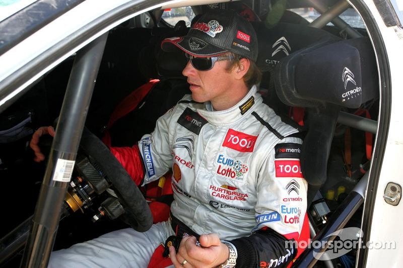 Petter Solberg Rally Italia Sardegna Preview
