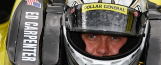 IndyCar Carpenter fastest on rainy Opening Day at Indy 500